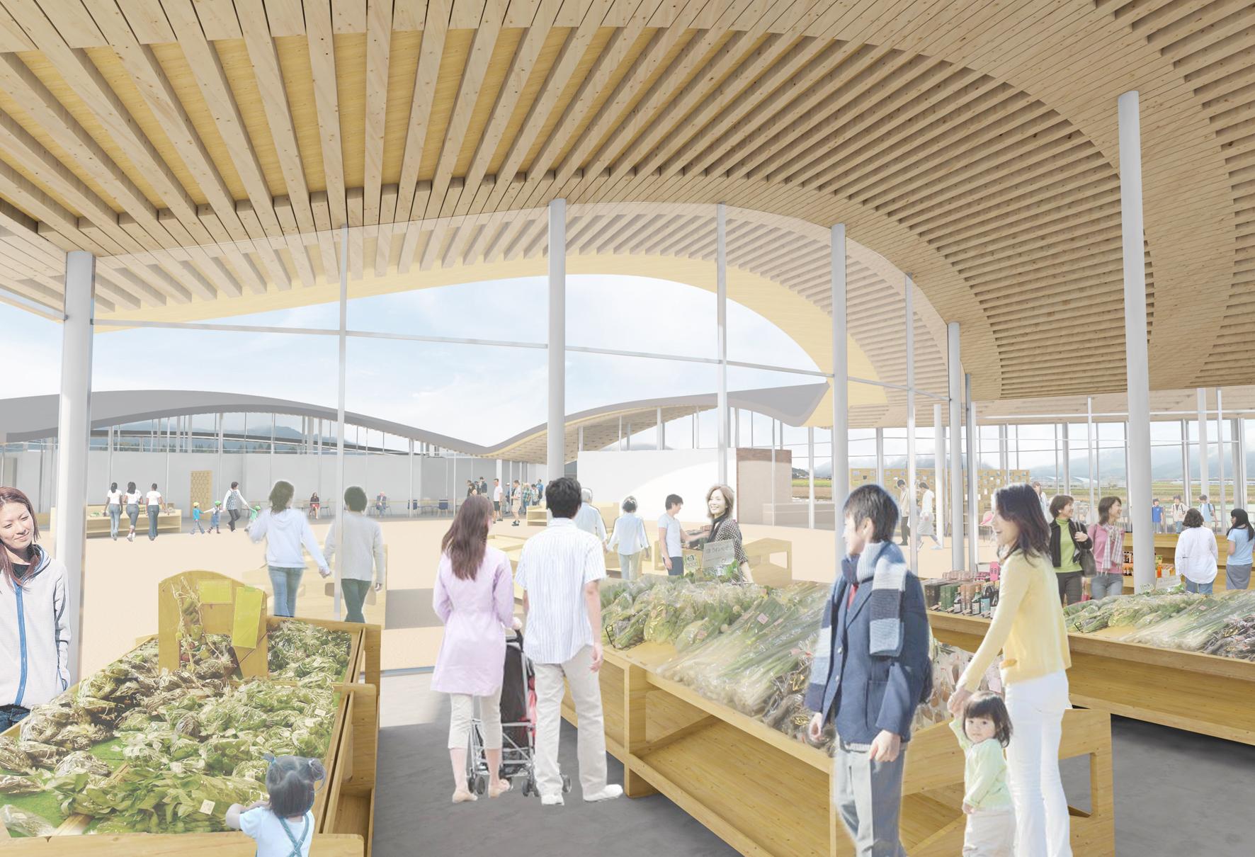 (仮称)道の駅北郷 設計デザイン技術提案コンペの結果がarchitecturephotoに掲載されています。