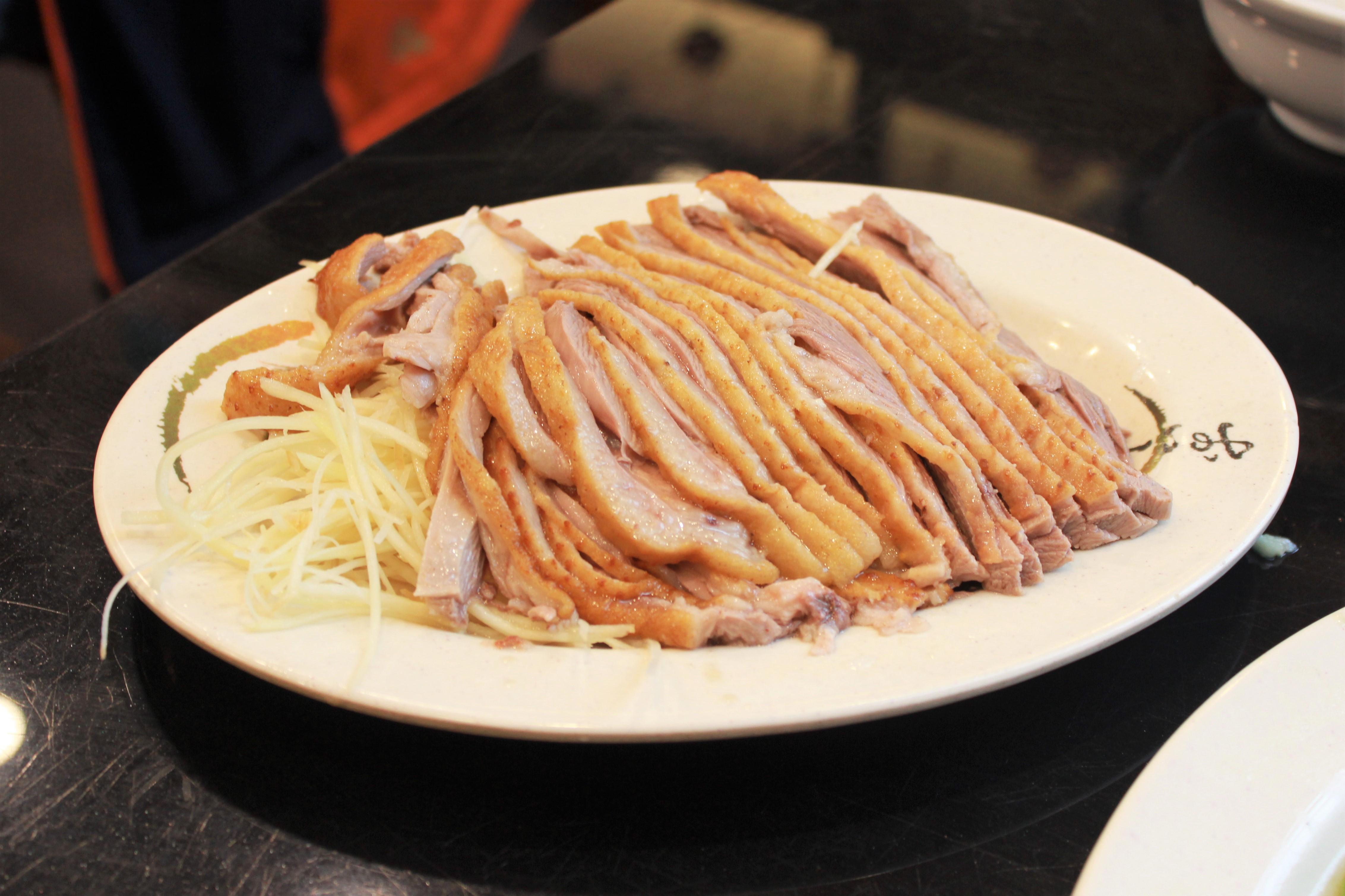 台湾のガチョウ肉