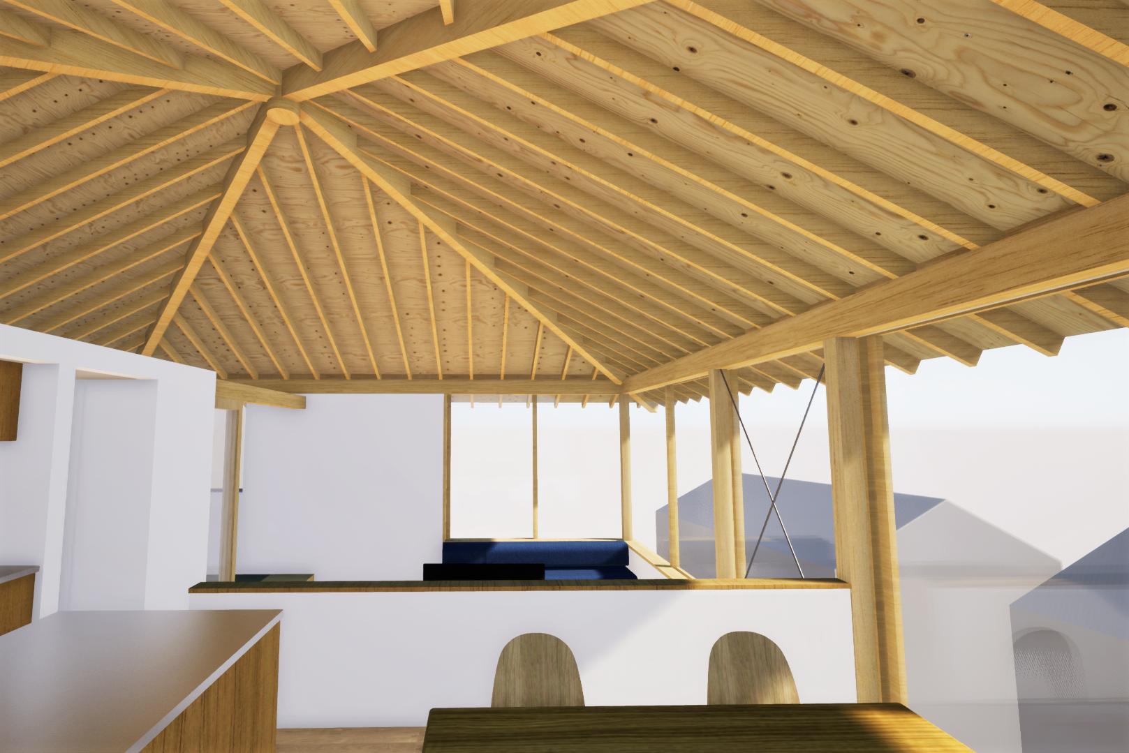 屋根の検討