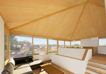 鎌倉山の住宅 実施設計完了