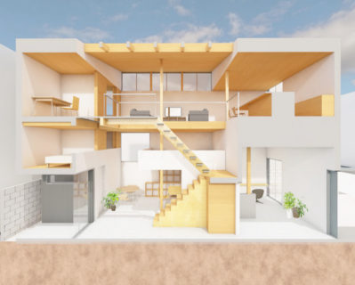 新森の住宅 実施設計完了