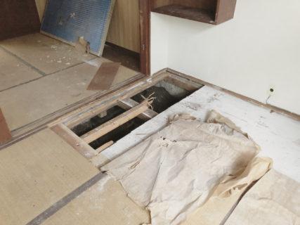 北白川のアパートメント 既存建物調査